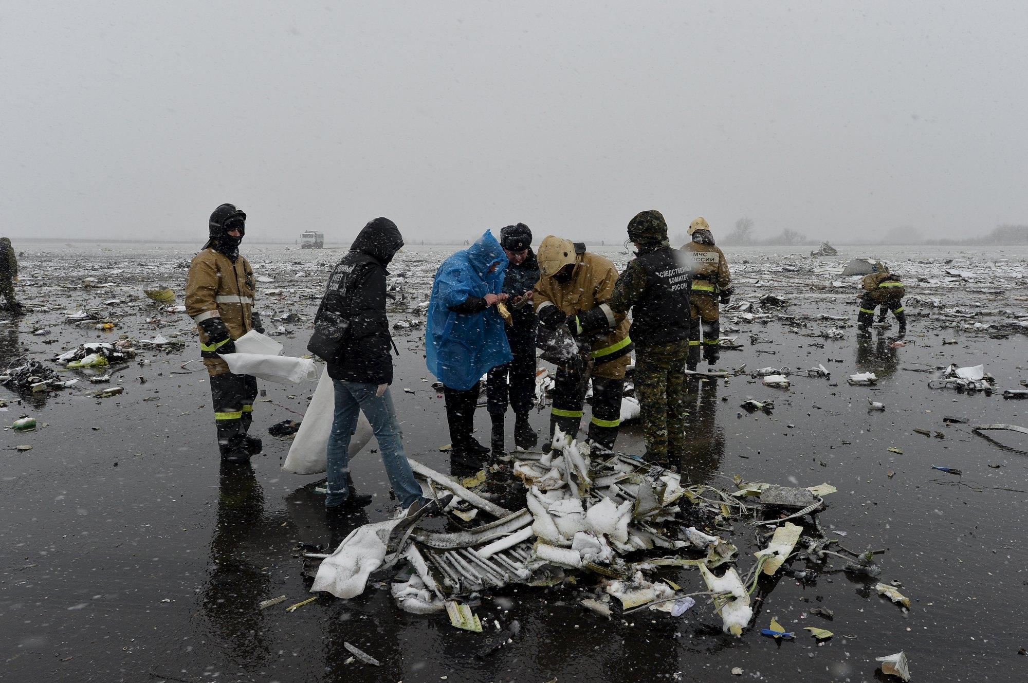 Фото с места крушения боинга 737 5